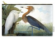 Reddish Egret, Carry-all Pouch by Granger
