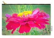 Reddish Pink Zinnia Carry-all Pouch
