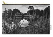 Redd's Pond Lupines Sunrise Black And White Carry-all Pouch