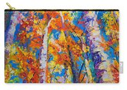 Redemption - Fall Birch And Aspen Carry-all Pouch by Talya Johnson