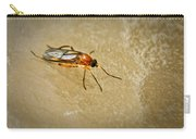 Redfly With Black Eyes Carry-all Pouch