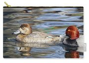 Redhead Duck Pair Carry-all Pouch