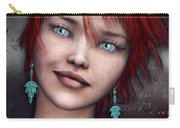 Redhead Carry-all Pouch by Jutta Maria Pusl