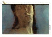 Redon: Closed Eyes, 1890 Carry-all Pouch