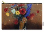 Redon: Wild Flowers, C1912 Carry-all Pouch