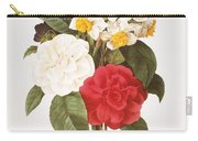 Redoute: Bouquet, 1833 Carry-all Pouch by Granger