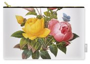Redoute: Roses, 1833 Carry-all Pouch by Granger