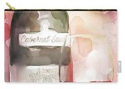 Redwinewatercolor Carry-all Pouch