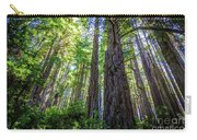 Redwoods National Forrest Trees Of Mistery Carry-all Pouch