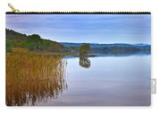 Reeds And An Islet In Lough Macnean Carry-all Pouch