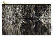 Reeds And Heron Carry-all Pouch