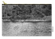 Reeds And Religion Black And White Carry-all Pouch