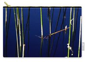 Reeds Of Reflection Carry-all Pouch by Chris Brannen