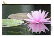 Reflected Water Lily Carry-all Pouch