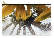 Reflected Yellow Petals Carry-all Pouch