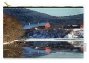 Reflecting On Farms By Connecticut Carry-all Pouch