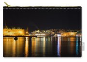 Reflecting On Malta - Cruising Out Of Valletta Grand Harbour Carry-all Pouch