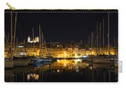 Reflecting On Malta - Senglea Golden Night Magic Carry-all Pouch
