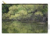 Reflecting Spring Green Carry-all Pouch