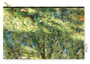 Reflecting Trees On Quiet Pond Carry-all Pouch
