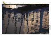 reflection in Eilat marina Carry-all Pouch