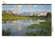 Reflection In Snake River At Grand Teton Carry-all Pouch