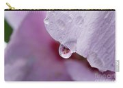 Reflection Of Flowers Carry-all Pouch
