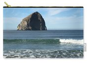 Reflection Of Haystock Rock  Carry-all Pouch
