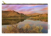 Reflection Of Scenic High Desert Landscape In Central Oregon Carry-all Pouch