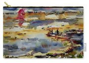 Reflection Of Sunset Glow Carry-all Pouch