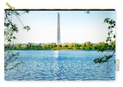 Reflection Of Washington Carry-all Pouch
