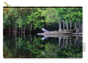 Reflection Off The Withlacoochee River Carry-all Pouch