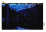 Reflection On String Lake Carry-all Pouch