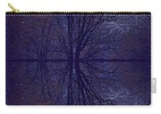 Reflection On Trees In The Dark Carry-all Pouch