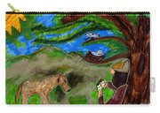 Reflections And Prayer Of St. Francis Carry-all Pouch