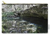 Reflections At The Grotto Carry-all Pouch