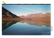 Mountains Reflected On A Beautiful Lake Carry-all Pouch