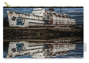 Reflections From The Duke Of Lancaster Ship  Carry-all Pouch