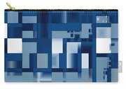 Reflections In Blue Carry-all Pouch
