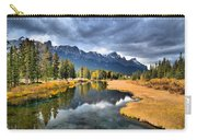 Reflections In Canmore Carry-all Pouch