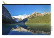 Reflections In The Water At Lake Louise, Canada Carry-all Pouch