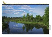 Reflections Lake Pioneer Peak Alaska Carry-all Pouch