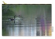 Reflections Of A Canada Goose Carry-all Pouch