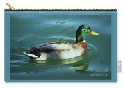 Reflections From A Mallard In Omaha Carry-all Pouch