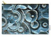 Reflections Of A Fractal Fossil Carry-all Pouch