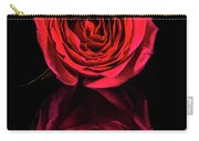 Reflections Of A Red Rose Carry-all Pouch