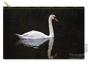 Reflections Of A Swimming Swan Carry-all Pouch
