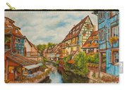 Reflections Of Colmar Carry-all Pouch by Charlotte Blanchard