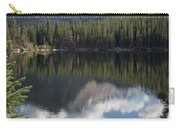 Reflections Of Majestic Mountains Carry-all Pouch