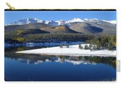Reflections Of Pikes Peak In Crystal Reservoir Carry-all Pouch